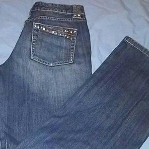 White House Black Market Bling Jean